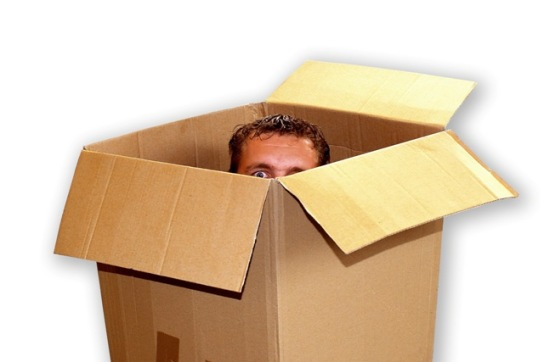 man-in-a-box